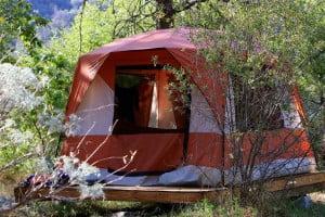Kings Platform tent